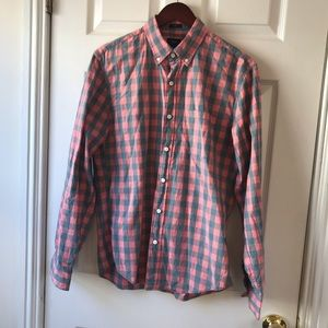 J. CREW SLIM FIT BUTTON UP. SZ. MEDIUM